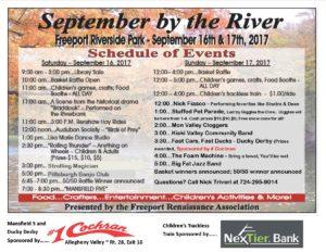SBR Schedule flyer